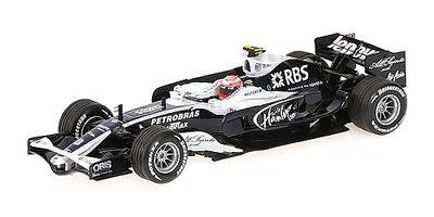 Williams FW30 nº 8 Kazuki Nakajima (2008) Minichamps 1/43