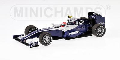 "Williams FW31 ""Showcar"" Kazuki Nakajima (2009) Minichamps 1/43"
