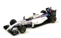 "Williams FW36 ""GP. Malasia"" nº 19 Felipe Massa (2014) Spark 1:18"