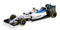 "Williams FW37 ""Abu Dhabi"" nº 77 Valtteri Bottas (2015) Minichamps 1:43"