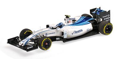 "Williams FW37 ""Abu Dhabi"" nº 77 Valtteri Bottas (2015) Minichamps 1:43"