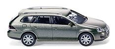 Volkswagen Golf Serie 5 Variant (2007) Wiking 1/87 Gris Metalizado Techo Metálico