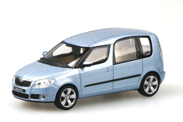 Skoda Roomster (2006) Abrex 143AB-007 1/43 Azul Polar Metalizado