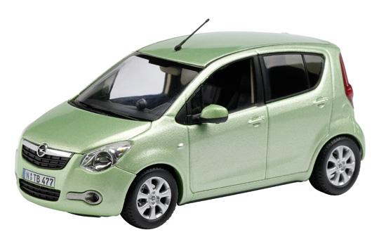 Opel Agila (2007) Schuco 1/43 Verde