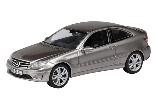 Mercedes Benz Clase C -W204- CLC (2008) Schuco 1/43 Gris Metalizado