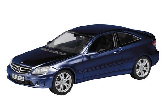Mercedes Benz Clase C -W204- CLC (2008) Schuco 1/43 Azul Metalizado