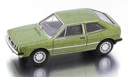 Volkswagen Scirocco Serie I (1974) Bub 1/87 Verde Metalizado