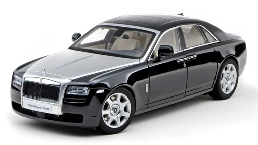 Rolls Royce Ghost (2010) Kyosho 1/18 Negro