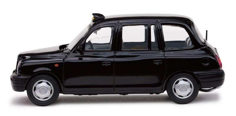 TX1 London Taxi Cab (1998) Vitesse 1/43 Negro