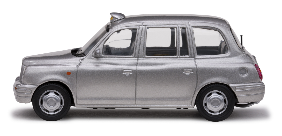 TX1 London Taxi Cab (1998) Vitesse 1/43 Gris
