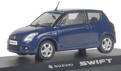Suzuki Swift 3 Puertas (2004) Rietze 1/43 Azul Oscuro