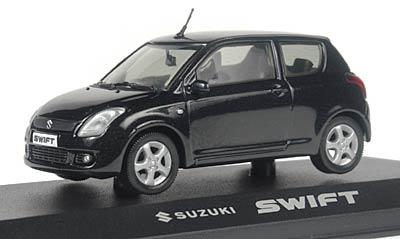 Suzuki Swift 3 Puertas (2004) Rietze 1/43 Negro Perla