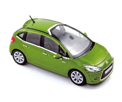 Citroen C3 (2009) Norev 1/43 Verde Metalizado