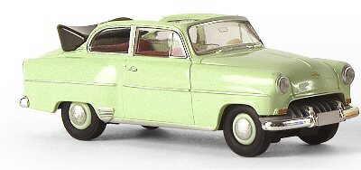 Opel Olympia Rekord Cabrio (1953) Brekina 20224 1/87 Verde
