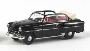 Opel Olympia Rekord Cabrio (1953) Brekina 20224 1/87 Negro