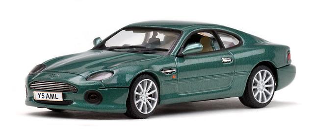 Aston Martin DB7 Vantage (1999) Vitesse 1/43 Verde Inglés
