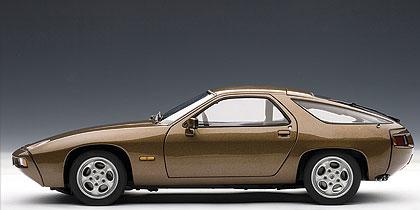 Porsche 928 (1978) Autoart 1/18 Marrón metalizado