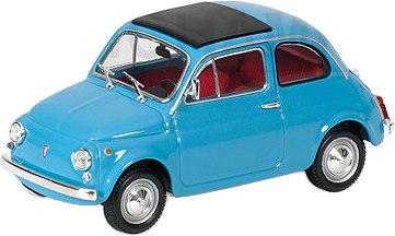 Fiat 500 (1965) Minichamps 1/43 Azul