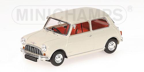 Mini 850 Serie 1 (1960) Minichamps 1/43 Blanco Roto