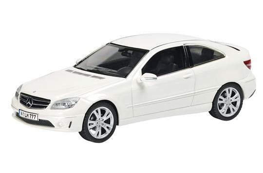 Mercedes Benz Clase C -W204- CLC (2008) Schuco 1/43 Blanco