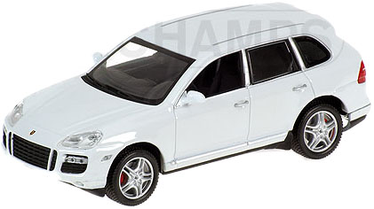 Porsche Cayenne Turbo (2007) Minichamps 1/43 Blanco