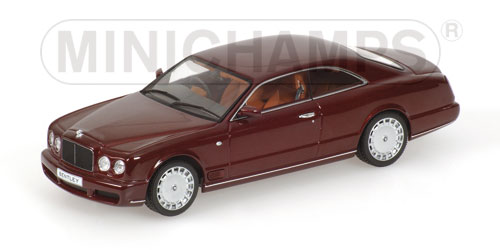 Bentley Brooklands (2007) Minichamps 1/43 Granate Metalizado