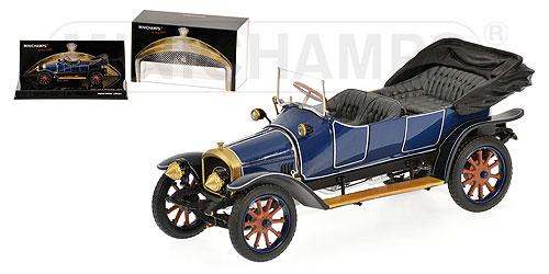 Audi Tipo A (1909) Minichamps 1/43 Azul Oscuro