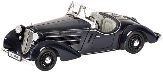 Audi Front 225 Roadster (1935) Minichamps 1/43 Azul Oscuro