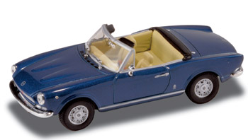 Fiat 124 Spider (1969) Starline 1/43 Azul
