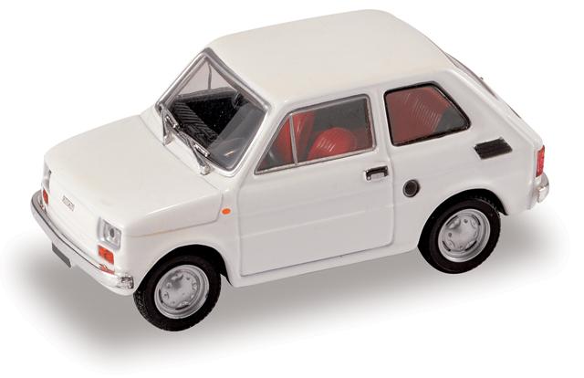 Fiat 126 (1972) Starline 507134 1/43 Blanco - Descatalogado
