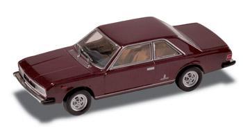 Fiat 130 Coupé (1971) Starline 1/43 Rojo Amaranto