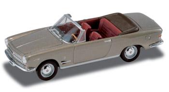 Fiat 2300S Cabriolet abierto (1962) Starline 1/43 Gris Metalizado