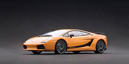 Lamborghini Gallardo Superleggera (2007) Autoart 1/43 Naranja