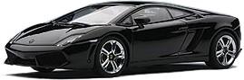 Lamborghini Gallardo LP 560-4 (2008) Autoart 1/43 Negro Metalizado