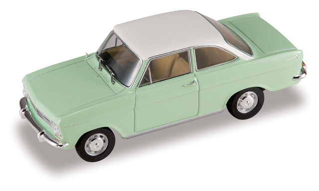 Opel Kadett A Coupé (1963) Starline 1/43 Verde Techo Blanco