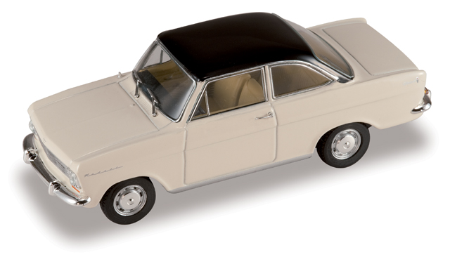 Opel Kadett A Coupé (1963) Starline 1/43 Beige Techo Negro