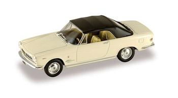 Fiat 2300S Cabriolet cerrado (1962) Starline 1/43 Blanco