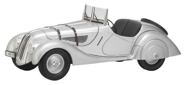 BMW 328 Softtop (1936) Premium Classixxs 1/12 Gris Metalizado