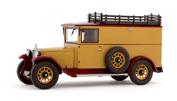 Mercedes Benz L1000 Express (1929) PCXXs 11150 1/43 Marrón - Beige
