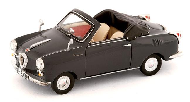 Goggomobil TS250 (1957) Cabrio Premium ClassiXXs 1/43 Gris Oscuro