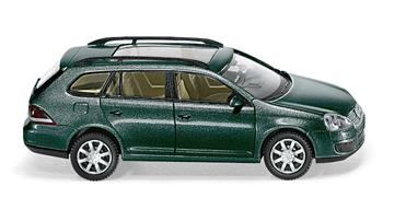 Volkswagen Golf Serie 5 Variant (2007) Wiking 1/87 Gris Metalizado Oscuro Techo cristal