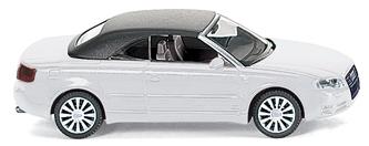 Audi A4 Cabriolet Cerrado Wiking 1/87 Blanco