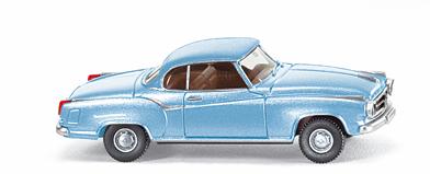 Borgward Isabella Coupé (1955) Wiking 1/87 Azul Met.