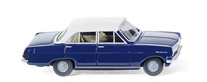 Opel Rekord A (1963) Wiking 1/87 Azul Techo Blanco