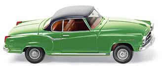 Borgward Isabella Coupé (1955) Wiking 1/87 Verde Techo Negro