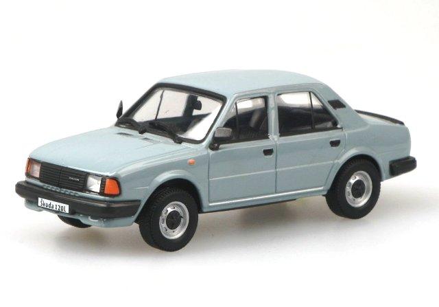 Skoda 120L (1984) Abrex 1/43 Azul Celeste