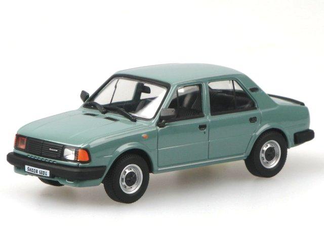 Skoda 120L (1984) Abrex 1/43 Verde Azulado