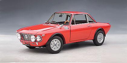 Lancia Fulvia 1.6HF Fanalone (1969) Autoart 1/18 Rojo
