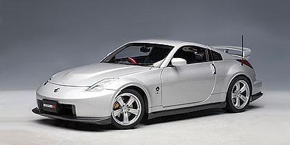 Nissan Fairlady Z Nismo 380RS (2007) Autoart 1/18 Gris Metalizado
