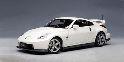 Nissan Fairlady Z Nismo 380RS (2007) Autoart 1/18 Blanco